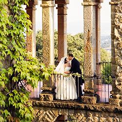 Elegante und romatische Hochzeit