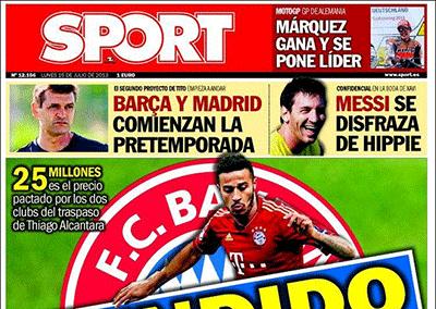 Boda Xavi Hernández – Diario Sport