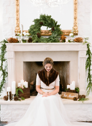 Elegant-Rustic-Winter-Wedding-Bride-300x409