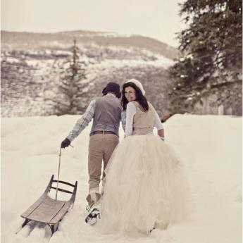 oui-oui-boda-invierno-nieve-novios-trineo